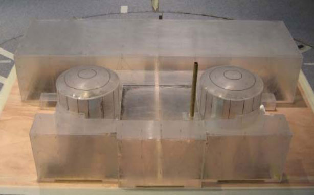 1-150-scale-mock-up-of-a-nuclear-reactor-used-in-the-framework-of-the-TIVANO-program.-Placed-in-the-CSTB-s