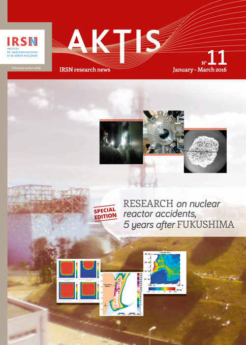 A special issue of Aktis, IRSN's scientific newsletter, 5 years after Fukushima