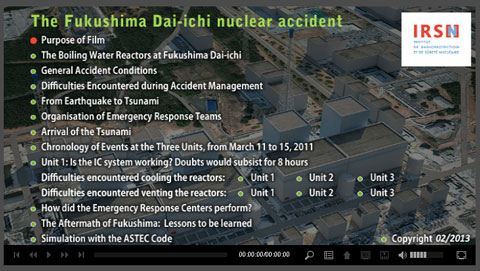 Analysis by IRSN of the Fukushima Daiichi accident of March 2011