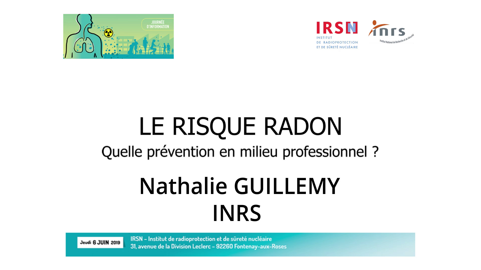 Introduction par Nathalie GUILLEMY, INRS